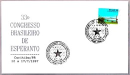 33 CONGRESO BRASILEÑO DE ESPERANTO. Curitiba PR 1997 - Esperánto