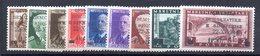 568A/1500 - ALBANIA 1944 , Serie Completa N. 303/311  ***  MNH - Albanie