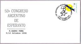 52 CONGRESO ARGENTINO DE ESPERANTO. R Saenz Peña 1998 - Esperánto