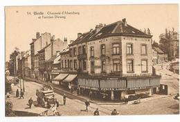 Uccle Brasserie Des Carrières Chaussée D'Alsemberg Et L'ancien Dieweg Carte Postale Ancienne Animée - Uccle - Ukkel