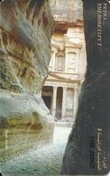 Jordania: Trans Jordan For Communication Services - Petra. The Rose City - Jordan