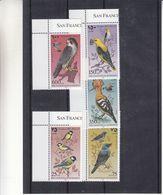 Oiseaux - Rapaces - Faucon - Palestine - Yvert 60 / 64 ** - Palestine