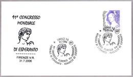 91 CONGRESO MUNDIAL DE ESPERANTO. Firenze 2006 - Esperanto