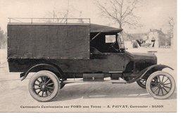 Camionnette Sur FORD Unne Tonne .A.Privat A Dijon - Camions & Poids Lourds