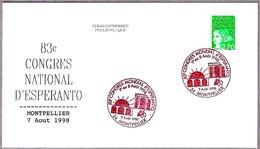83 CONGRESO NACIONAL DE ESPERANTO. Montpellier 1998 - Esperánto