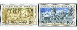 Ref. 212385 * MNH * - LAOS. 1975. SAVE BOROBUDUR TEMPLE . SALVACION DEL TEMPLO DE BOROBUDUR - Laos