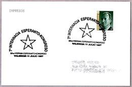 7º CONGRESO INTERNACIONAL DE ESPERANTO. Valencia 1997 - Esperanto