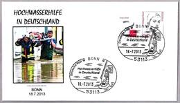 INUNDACIONES EN ALEMANIA 2013 - Floods In Germany. Bonn 2013 - Geology