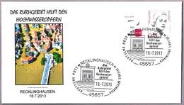 INUNDACIONES EN ALEMANIA 2013 - Floods In Germany. Recklinghausen 2013 - Geología