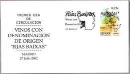 VINOS CON DENOMINACION DE ORIGEN RIAS BAIXAS. SPD/FDC Madrid 2002 - Vins & Alcools
