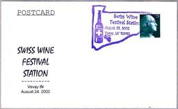 FESTIVAL DEL VINO SUIZO - SWISS WINE FESTIVAL. Vevay IN 2002 - Vins & Alcools