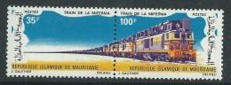 Mauritanie  N° 296A XX  Chemin De Fer : Train De La Miferma.  Les 2 Valeurs Se Tenant Sans Charnière, TB - Mauritanie (1960-...)