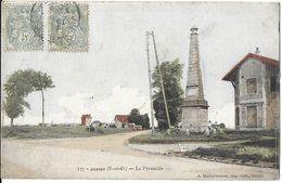 JUVISY-SUR-ORGE 91 ESSONNE (S-ET-O)  127 LA PYRAMIDE EDIT. MARQUIGNON.  JCT&DG - Juvisy-sur-Orge