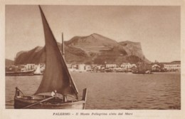 AM97 Palermo, Il Monte Pellegrino Visto Dal Mare - Sailing Boat - Palermo