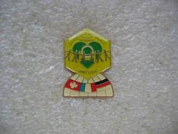 Pin's De L'orphelinat Mutualiste De La Police Nationale De La Ville De St Louis En Alsace, - Police