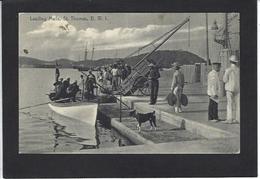 CPA Virgin Islands Saint Thomas Type Métier Non Circulé - Cartes Postales