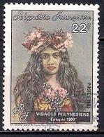 French Polynesia 1985 - Polynesian Faces - Polinesia Francesa