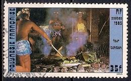 French Polynesia 1985 - Tahitian Oven Pit - Polinesia Francesa