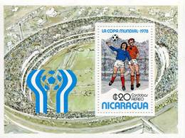 Lote 1978, Nicaragua, 1093, HF, SS, World Soccer Cup, FIFA, Argentina 78, Foot Ball, Futbol - Nicaragua