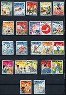 TCHAD : JO DE MEXICO N° Yvert 183/212 INCOMPLET Obli. - Tchad (1960-...)