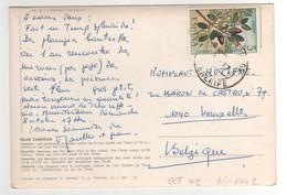 Timbre , Stamp Yvert N° 1742 Sur CP , Carte , Postcard Du??/10/1972 - 1931-Aujourd'hui: II. République - ....Juan Carlos I