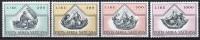 Vatican Poste Aérienne 1971 - Yvert N° 55 à 58 ** - Airmail