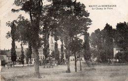 03 Allier : Le Mayet De Montagne Le Champ De Foire - France