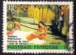 French Polynesia 1986 - Polynesian Folklore - Traditional Crafts - Polinesia Francesa