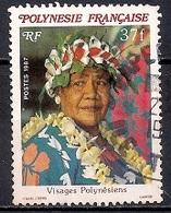 French Polynesia 1987 - Polynesian Faces - Polinesia Francesa