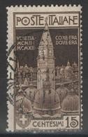 Italie - YT 94 Oblitéré - 1912 - 1900-44 Victor Emmanuel III