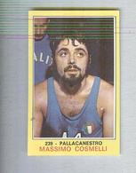 MASSIMO COSMELLI....PALLACANESTRO....VOLLEY BALL...BASKET - Trading Cards