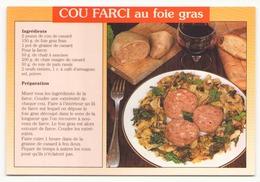 COU FARCI AU FOIE GRAS - Recettes (cuisine)