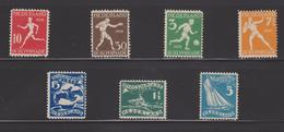 PAYS BAS 7 TIMBRES Des JEUX OLYMPIQUES D'AMSTERDAM 1928 - Summer 1928: Amsterdam