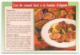 COU DE CANARD FARCI A LA FONDUE D OIGNON - Recettes (cuisine)