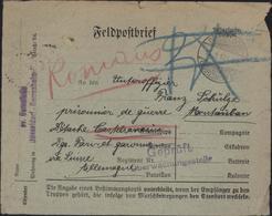 Guerre 14 Prisonniers Allemand Castelsarrasin 82 CAD Dusseldorf Gerresheim 11 1 17 Censure Gepruft Visa Romans - Guerre De 1914-18