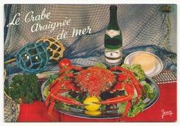LE CRABE ARAIGNEE DE MER - Recettes (cuisine)