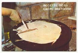 RECETTE DE LA CREPE BRETONNE - Recipes (cooking)