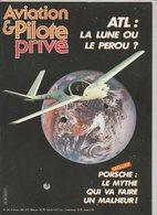 Revue Aviation Et Pilote N°145 Février 1986 - 20 Ans De L'AFVA - Porsche - Parachutisme Sportif - Hélico : Le Djinn - Aviation