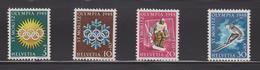 SUISSE  JEUX OLYMPIQUES De SAINT MORITZ 1948 - Invierno 1948: St-Moritz