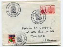 10757 FRANCE  N°1297  Coulomb  : Foire Exposition OSI  Angoulême  Du 20.5.61  TB - 1960-1969