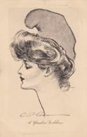 AS14 Artist Signed C.D. Gibson - A Yankee Goddess - Illustrators & Photographers