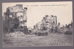 St-Claud.  Souvenir De L'année Terrible - Weltkrieg 1914-18