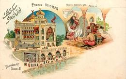 Pays Div -ref P91-turquie -exposition Universelle 1900- Paris -palais Ottoman -degustation Biere St Dizier -brasserie - Turquie
