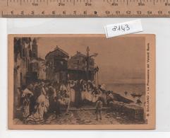 8143  B.GIULIANO LA PROCESSIONE DEL VENERDI SANTO - Pittura & Quadri