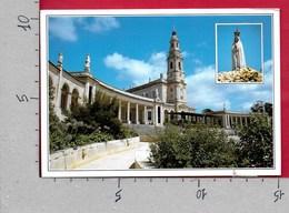 CARTOLINA VG PORTOGALLO - FATIMA - Santuario - 11 X 16 - ANN. 2001 PERDIZ DO MAR - Santarem
