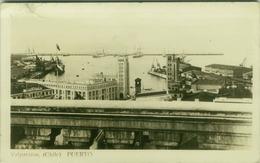 CHILE - VALPARAISO - PUERTO - RPPC POSTCARD 1950s  - STAMP (BG1950) - Chili