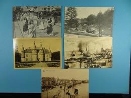 5 Cartes Postales De Belgique (Liège, Brasschaet, Anvers, Bruges) - Cartes Postales