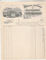 Facture Illustrée Neuve P CHERBERO Espadrilles MAULEON Basses Pyrénées - France