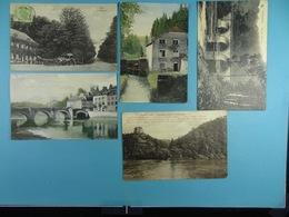 5 Cartes Postales De Belgique (dont 3 Bouillon) - Cartes Postales