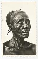 Congo Belge Vieille Femme Ngombe Scarification Visage Cartes Postales Ancienne Belgisch Congo Binga - Congo Belge - Autres